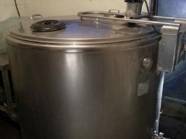 Pieno saldytuvas 800 litru talpos