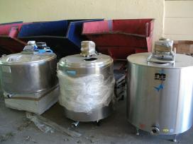 Pieno saldytuvas 800 litru talpos - nuotraukos Nr. 2