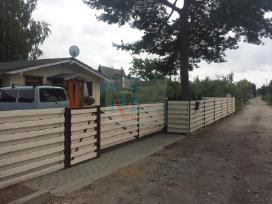 Automatinių kiemo vartų gamyba,remontas,montavimas