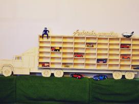Vaiko žaislų lentyna 140cm ilgio!