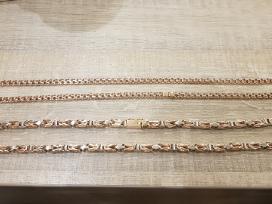 Karaliskas pytonas nauja 585 grandinele ant kaklo - nuotraukos Nr. 2