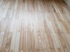 Medinių grindų ir parketo šlifavimas lakavimas - nuotraukos Nr. 9