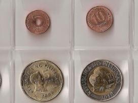 Filipinai 7 monetų rinkinukas Unc