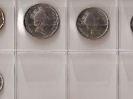 Fidži 5 monetų rinkinukas Unc