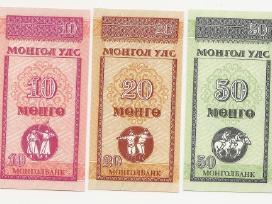 Mongolijos banknotai