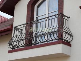 Kalviški vartai grotos turėklai tvoros stogeliai - nuotraukos Nr. 7