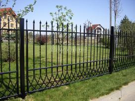 Kalviški vartai grotos turėklai tvoros stogeliai - nuotraukos Nr. 8