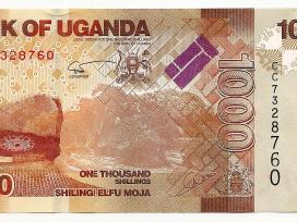 Ugandos banknotai