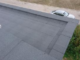 Bituminių prilydomų stogų dengimas - nuotraukos Nr. 11
