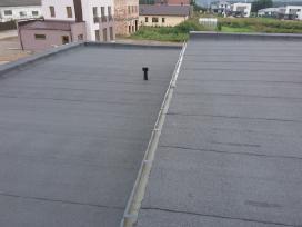 Bituminių prilydomų stogų dengimas - nuotraukos Nr. 12