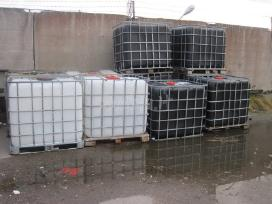 Parduodamos ibc talpos, konteineriai 1000 ltr.