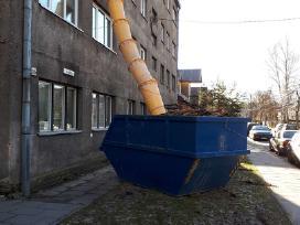 Siuksliu, statybiniu atlieku isvezimas, griovimas - nuotraukos Nr. 6