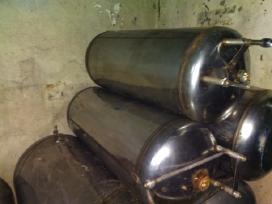 Nerūdijančio metalo Boileris, resyveris,talpa