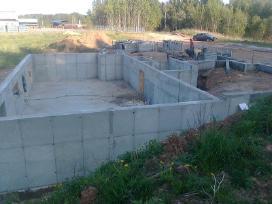 Pamatai,tvoros ir visi betonavimo darbai. Cfa. - nuotraukos Nr. 3