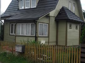 Mediniu namų ir tvoros dažymas - nuotraukos Nr. 12