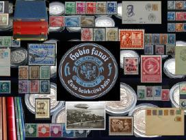 Pašto ženklai. Filatelijos elektroninė parduotuvė
