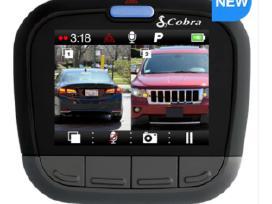 Reg. Cobra Cdr905bt Dual kamera. Nauja. 1080p