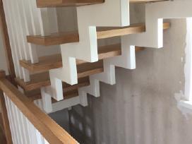 Laiptai iš metalo, metalinis karkasas