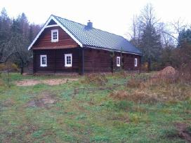 Karkasiniu namu statyba, stogu dengimas, terasos - nuotraukos Nr. 4