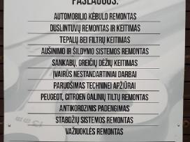 Autoremontas Vilniuje. Utenos g.35-23