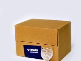 -30% Krištolinėms taurėms/stiklinėms, taurelėms