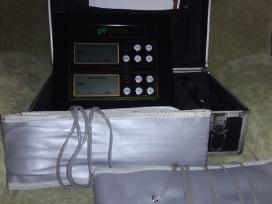 Dvigubo ekrano detoksikacinis aparatas