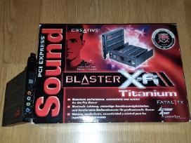 Soundblaster fatal1ty x-fi
