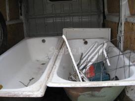 Nemokamai išvežu metala,vonias mazais kiekiais