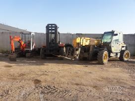 Traktorių.ekskavatorių remontas atsarginės dalys
