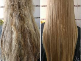 Plaukų Tiesinimas keratinu, Botoksas, Haireconstru
