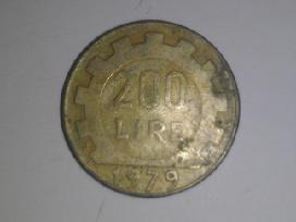 Italy 200 Lire, 1979