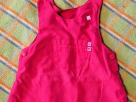 Rožinė suknelė, 3-6 mėn. mergaitei