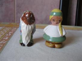 Dvi Molines Glazuruotos Statuleles - labai grazios