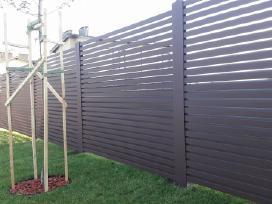 Skardos lankstiniai, skardines tvoros - nuotraukos Nr. 12