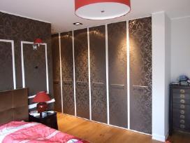 Sieninės spintos,drabužinės, stumdomos durys - nuotraukos Nr. 2