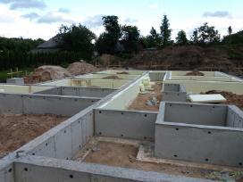 Pasyvių namų statyba,plokštuminiai pamatai. - nuotraukos Nr. 7