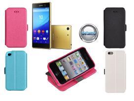 Slim Diary dėklai Sony Xperia telefonams