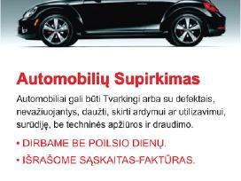 Vilniaus apskrities automobiliu supirkimas.vilnius