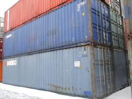 Jurinis konteineris 12m (40pedu) geros bukles