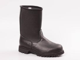 Įmaunami auliniai darbo batai natūralios odos