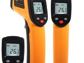 Lazerinis bekontaktis termometras (naujas)