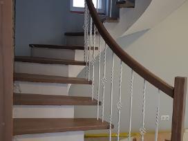 Laiptai Laiptu gamyba medzio pakopos - nuotraukos Nr. 13
