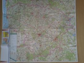 Lietuvos ir Europos kelių žemėlapis