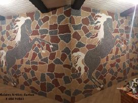Mozaikinis dekoratyvinis tinkas