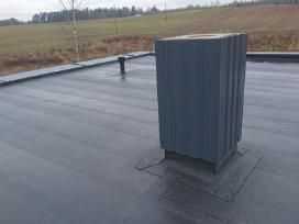 Bituminių prilydomų stogų dengimas - nuotraukos Nr. 15