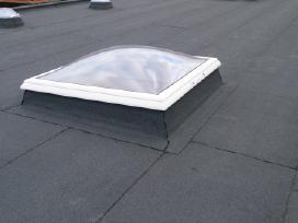 Bituminių prilydomų stogų dengimas - nuotraukos Nr. 16