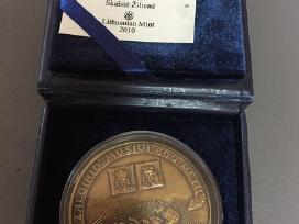 Zalgirio musiui 600 metu stalo medalis