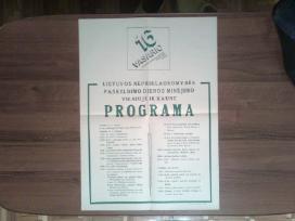 Vasario 16 dienos paminejimo plakatas 1989 metai