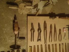 Dildės, replės, santechniniai raktai (cangės) - nuotraukos Nr. 2