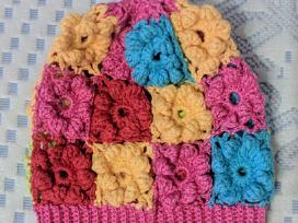 Rankų darbo kepurė 6-12 mėn. vaikui - nuotraukos Nr. 2
